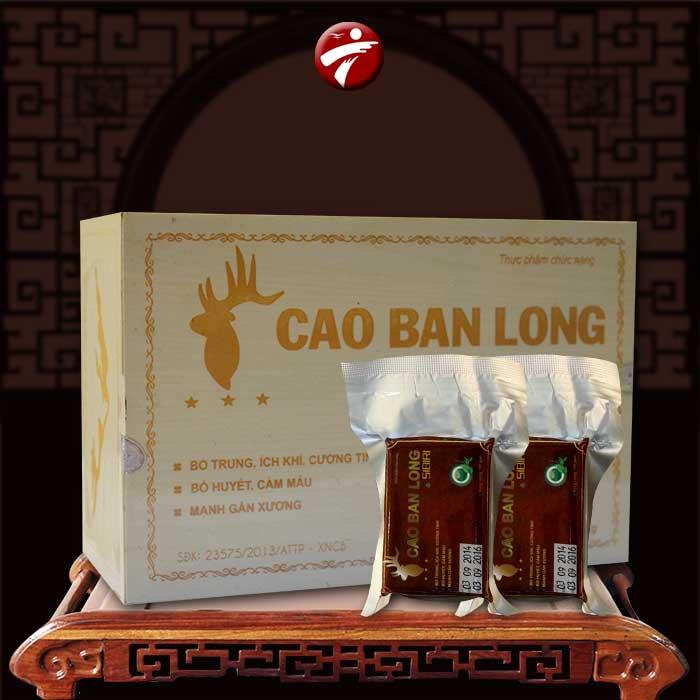 Cao nhung hươu–Cao ban long hộp quà tặng NH003