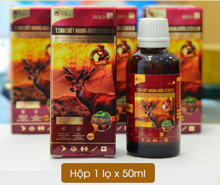 Tinh  chất nhung hươu Pantocrin Sibiri NH006 7
