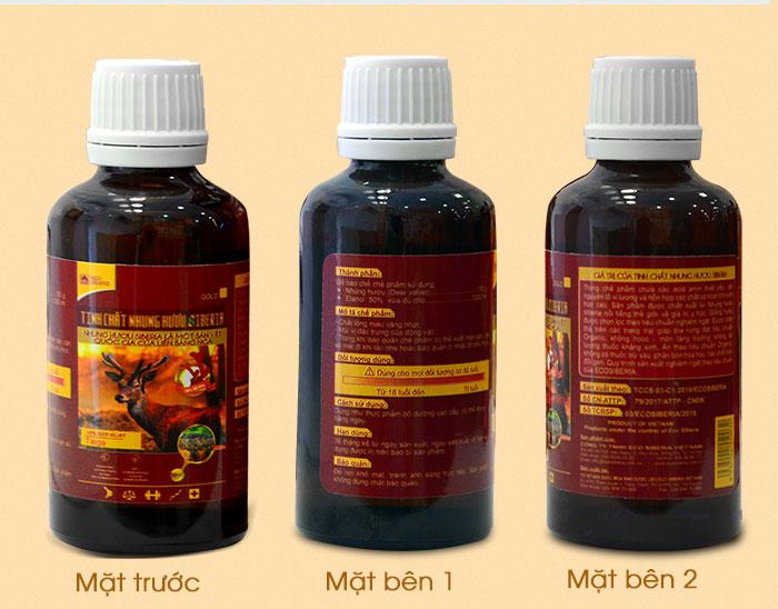 Tinh  chất nhung hươu Pantocrin Sibiri NH006 8